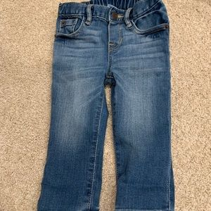 Baby gap my first skinny blue jean nwot 12-18 mo
